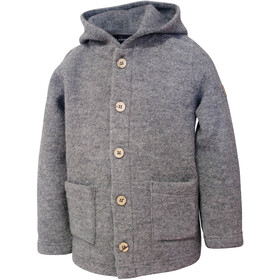Ivanhoe of Sweden LO Hooded Jacket Kids grey marl